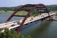 360奥斯汀桥梁 免版税库存图片