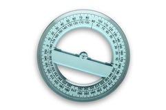 360 βαθμοί μοιρογνωμόνιων στοκ φωτογραφία