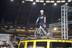 360 degrés d'exposition d'adrenalina Photo libre de droits