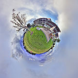 360 degrees panrama of hotel Kaufmann Royalty Free Stock Photo