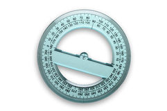 360 degrees protractor Stock Photography