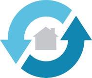 360 domu usługa Zdjęcia Stock