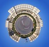 360 grad planet Arkivbilder