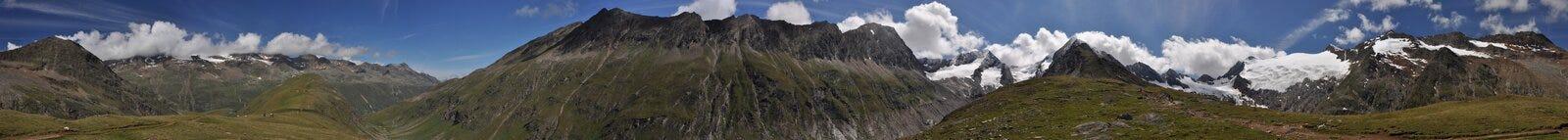 360 graden panorama Stock Afbeelding