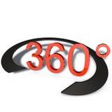 360 gradenpanoramas Stock Afbeelding