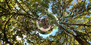 360 Little Planet Royalty Free Stock Photography