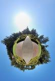 360 tuin Royalty-vrije Stock Afbeeldingen