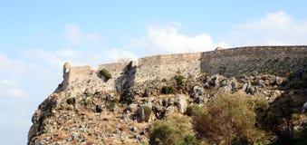 3667 fortezza ściany. Zdjęcie Royalty Free