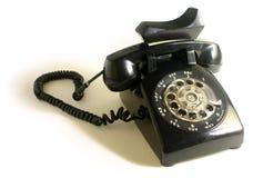 转台式的电话 免版税库存照片