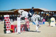 36th Postova Banka-Peugeot Grand Prix Show Jumping Stock Image