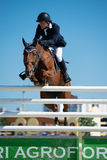 36th Postova Banka-Peugeot Grand Prix Show Jumping Stock Photography