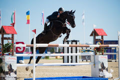 36th Postova Banka-Peugeot Grand Prix Show Jumping Royalty Free Stock Photography