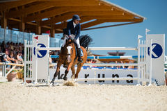 36th Postova Banka-Peugeot Grand Prix Show Jumping Stock Photo