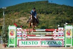 36th Salto grande da mostra de Postova Banka-Peugeot Prix Fotos de Stock Royalty Free