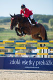 36th Salto grande da mostra de Postova Banka-Peugeot Prix Fotos de Stock