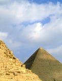37座吉萨棉金字塔 免版税图库摄影