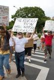 37 anti apec honolulu занимает протест Стоковые Изображения
