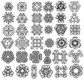 37 elementi di disegno Immagine Stock Libera da Diritti