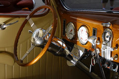 37 Ford interior Stock Photo