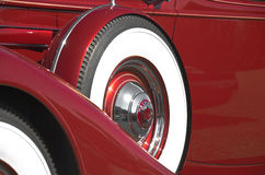 37 Packard spare Stock Image