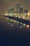 都市的横向 库存照片