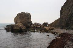 3714雾照片海景 免版税库存照片