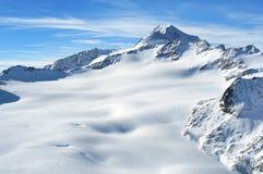 3776m奥地利高山wildspitze 免版税库存照片