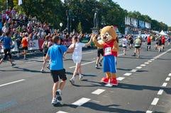 38 2011年柏林马拉松 库存图片