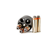 38 bullets in speed loder Royalty Free Stock Photo