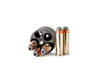 38 kogels in snelheid loder Royalty-vrije Stock Foto