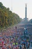 38. Maratón 2011 de Berlín Foto de archivo libre de regalías
