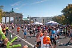 38. Maratón 2011 de Berlín Imagen de archivo