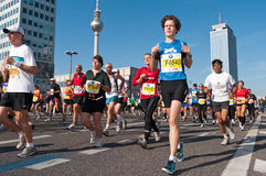 38. Marathon 2011 de Berlin Photo stock