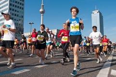 38. Maratona 2011 di Berlino Fotografia Stock