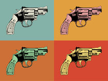 .38 Special gun illustration Stock Photo