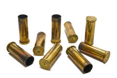 .38 Special shell casings Stock Images