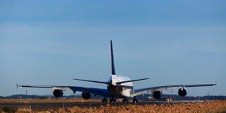 380航空回到运输路线 免版税图库摄影