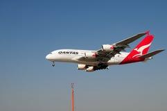 380 20èmes 2008 Airbus atterrissant octobre relâché Images stock