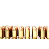 380 Caliber Handgun Ammo Royalty Free Stock Photo