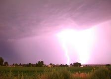 闪电风暴 库存照片