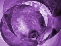 阴霾紫色 免版税库存照片