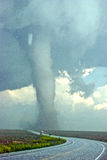 385 gradowy autostrady ampuły tornado Obrazy Royalty Free