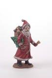 陶瓷克劳斯・圣诞老人 免版税库存照片