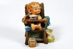 陶瓷的婴孩 图库摄影