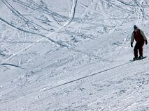 雪板 免版税库存照片