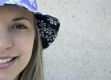 青少年的女孩 图库摄影