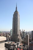 38th верхняя часть крыши империи Стоковые Фото
