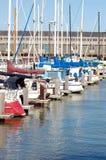 39个码头码头 免版税库存图片