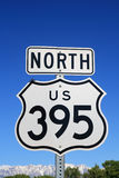 395北部签署我们 免版税库存图片