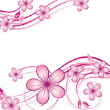 39abstract floral background Royalty Free Stock Image